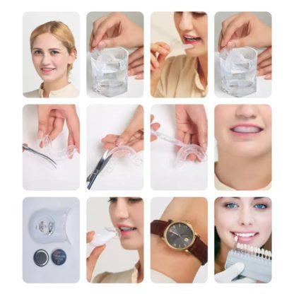Tandenbleek bitjes op maat maken